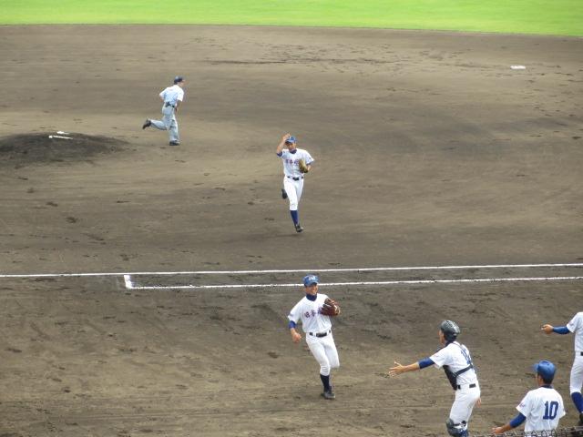 北信越高校野球石川県大会 三回戦 航空vs市工 054