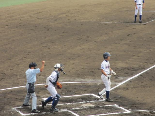北信越高校野球石川県大会 三回戦 航空vs市工 061