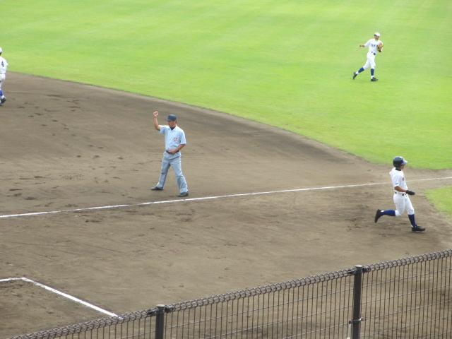 北信越高校野球石川県大会 三回戦 航空vs市工 059