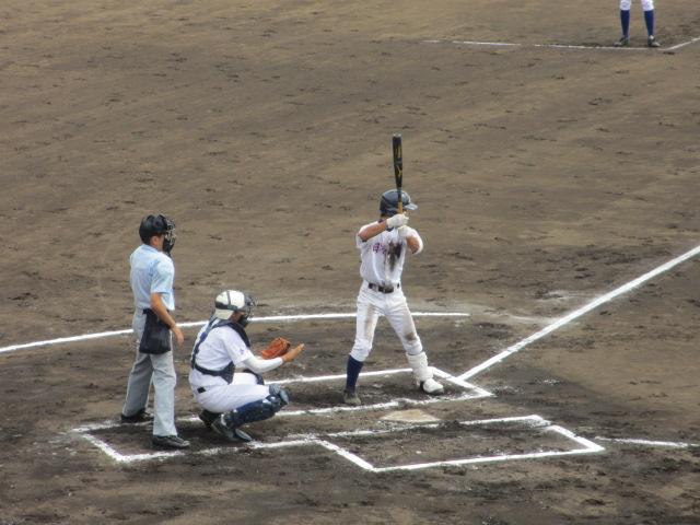 北信越高校野球石川県大会 三回戦 航空vs市工 060