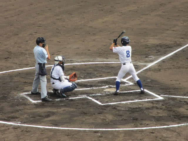 北信越高校野球石川県大会 三回戦 航空vs市工 057