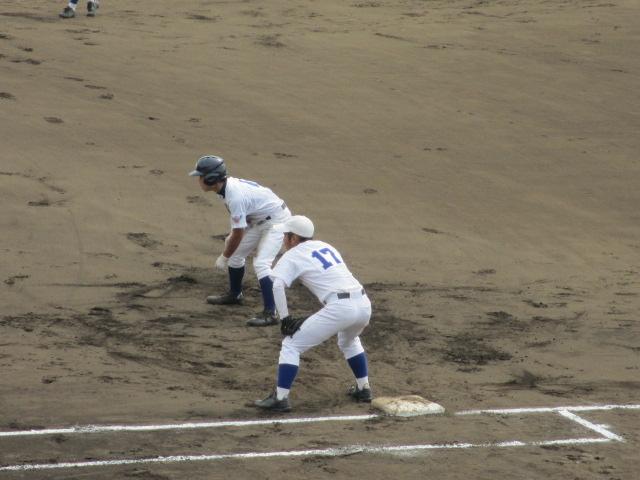 北信越高校野球石川県大会 三回戦 航空vs市工 066