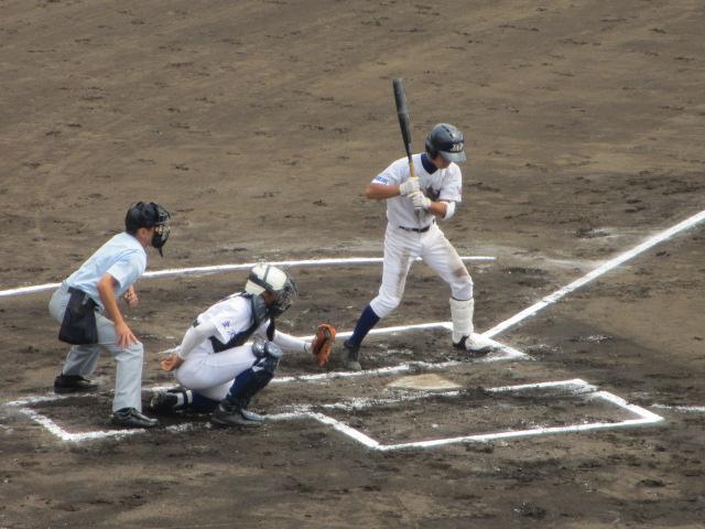 北信越高校野球石川県大会 三回戦 航空vs市工 062
