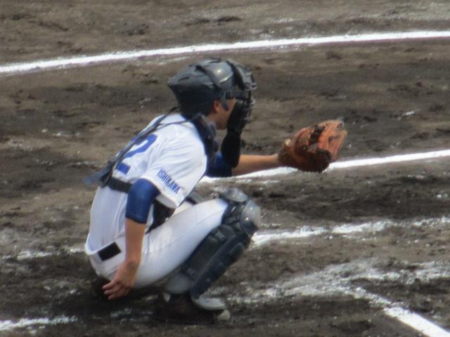 北信越高校野球石川県大会 三回戦 航空vs市工 072