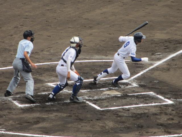 北信越高校野球石川県大会 三回戦 航空vs市工 069
