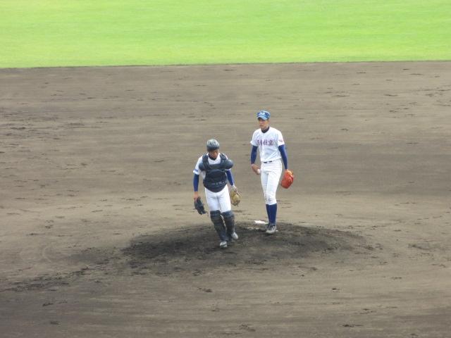 北信越高校野球石川県大会 三回戦 航空vs市工 080