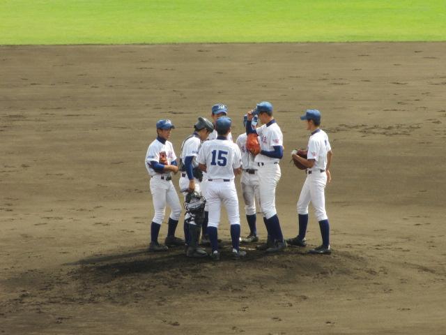 北信越高校野球石川県大会 三回戦 航空vs市工 092