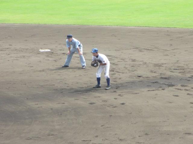 北信越高校野球石川県大会 三回戦 航空vs市工 090