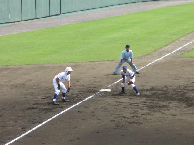 北信越高校野球石川県大会 三回戦 航空vs市工 088