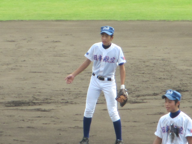 北信越高校野球石川県大会 三回戦 航空vs市工 094