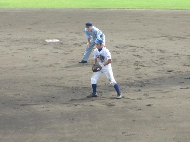 北信越高校野球石川県大会 三回戦 航空vs市工 093