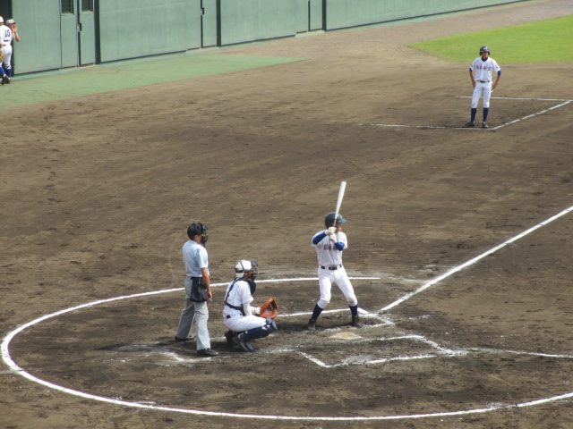北信越高校野球石川県大会 三回戦 航空vs市工 103
