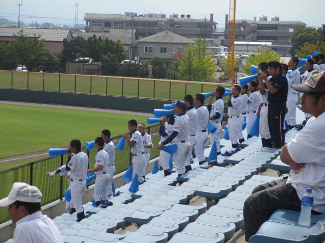 北信越高校野球石川県大会 三回戦 航空vs市工 102