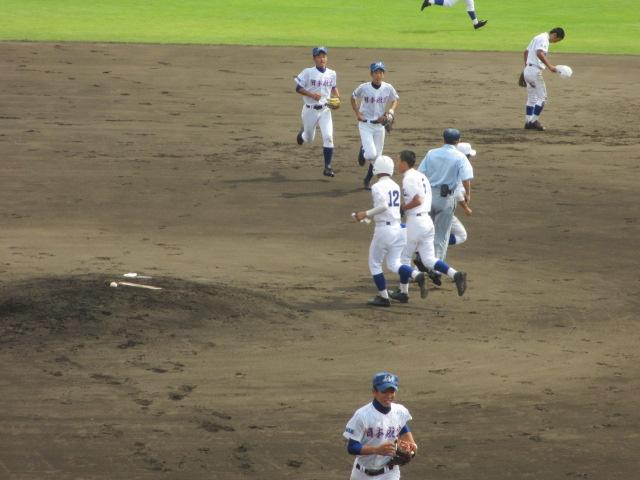 北信越高校野球石川県大会 三回戦 航空vs市工 099