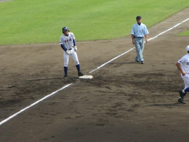 北信越高校野球石川県大会 三回戦 航空vs市工 109