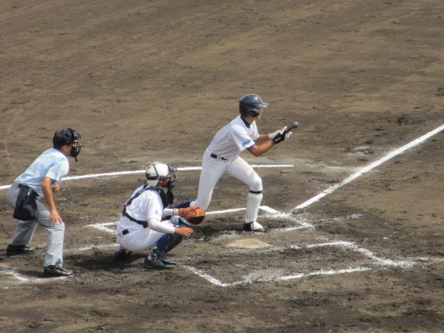 北信越高校野球石川県大会 三回戦 航空vs市工 105