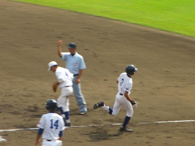 北信越高校野球石川県大会 三回戦 航空vs市工 106