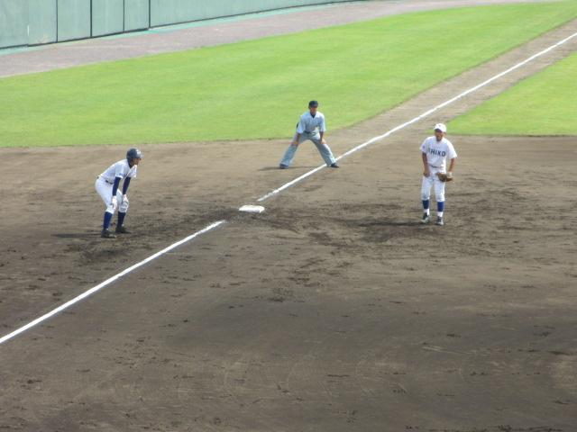 北信越高校野球石川県大会 三回戦 航空vs市工 113