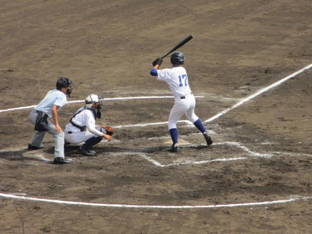 北信越高校野球石川県大会 三回戦 航空vs市工 112