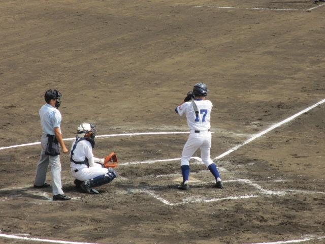 北信越高校野球石川県大会 三回戦 航空vs市工 111