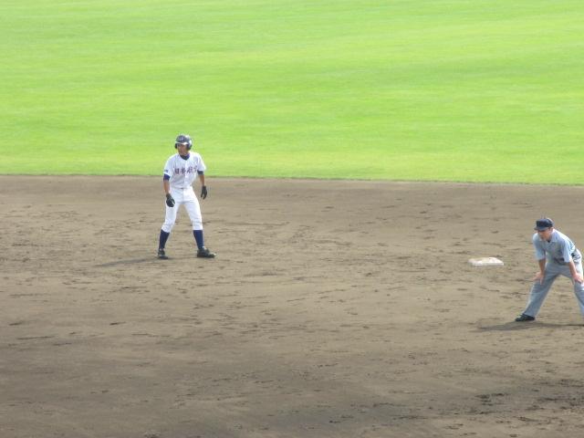 北信越高校野球石川県大会 三回戦 航空vs市工 121