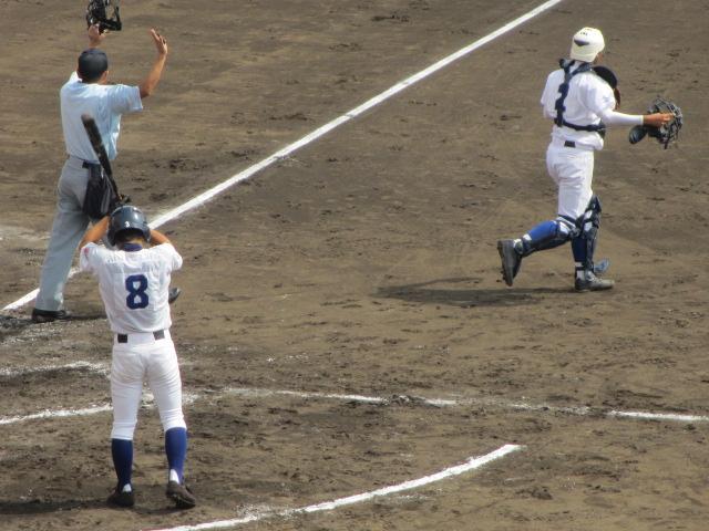 北信越高校野球石川県大会 三回戦 航空vs市工 127