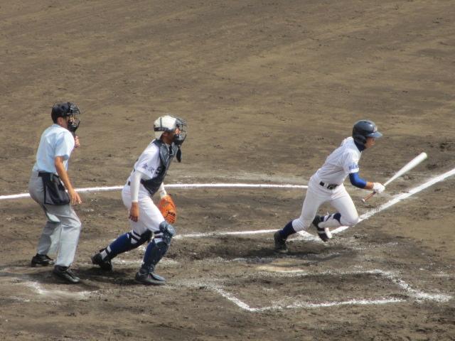 北信越高校野球石川県大会 三回戦 航空vs市工 125