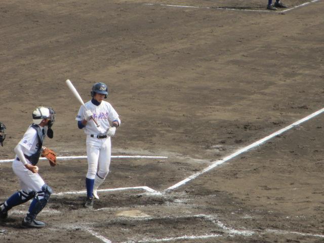 北信越高校野球石川県大会 三回戦 航空vs市工 124