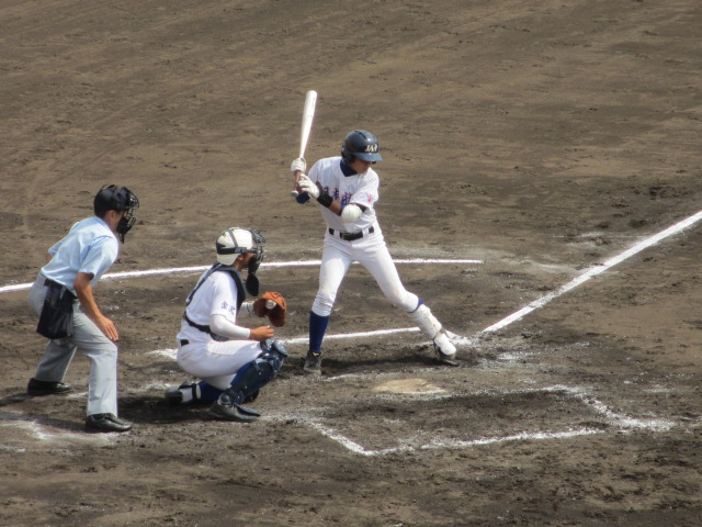 北信越高校野球石川県大会 三回戦 航空vs市工 123