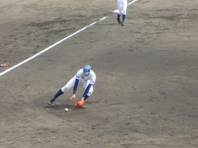 北信越高校野球石川県大会 三回戦 航空vs市工 133