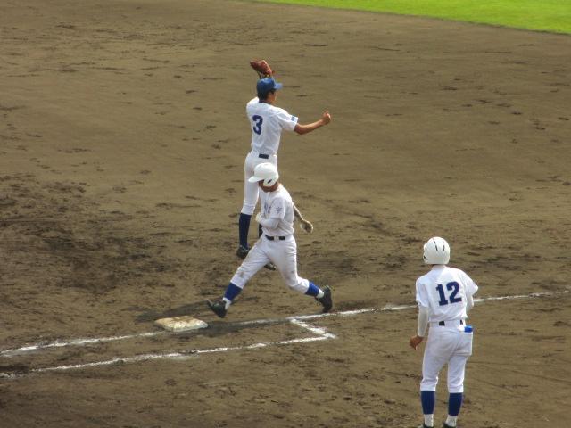 北信越高校野球石川県大会 三回戦 航空vs市工 132