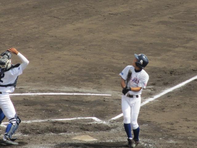 北信越高校野球石川県大会 三回戦 航空vs市工 131