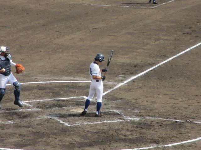 北信越高校野球石川県大会 三回戦 航空vs市工 129