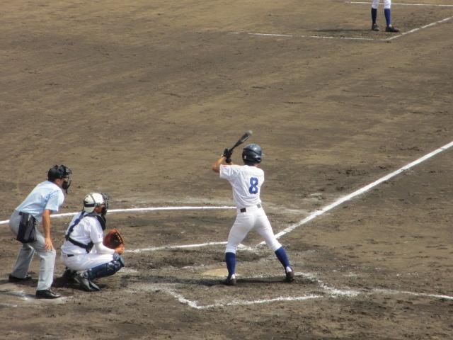北信越高校野球石川県大会 三回戦 航空vs市工 128