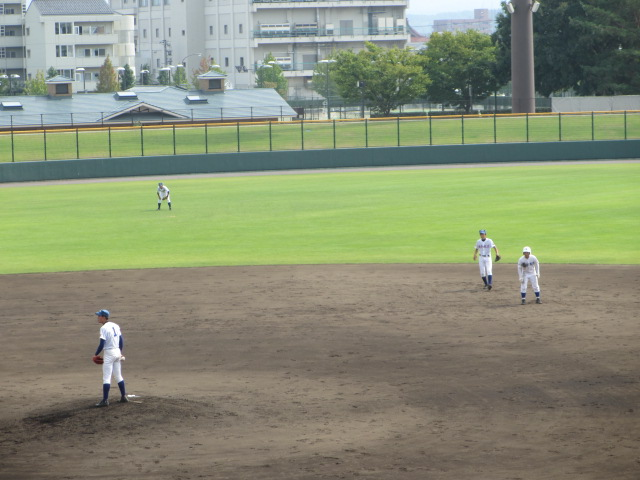北信越高校野球石川県大会 三回戦 航空vs市工 138
