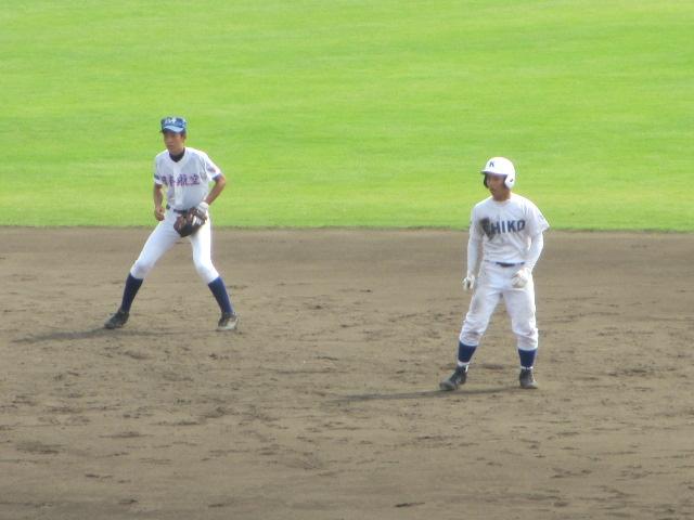 北信越高校野球石川県大会 三回戦 航空vs市工 135
