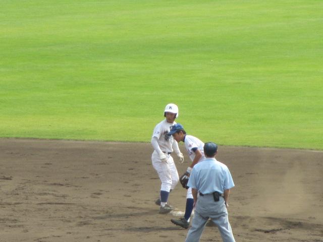 北信越高校野球石川県大会 三回戦 航空vs市工 136