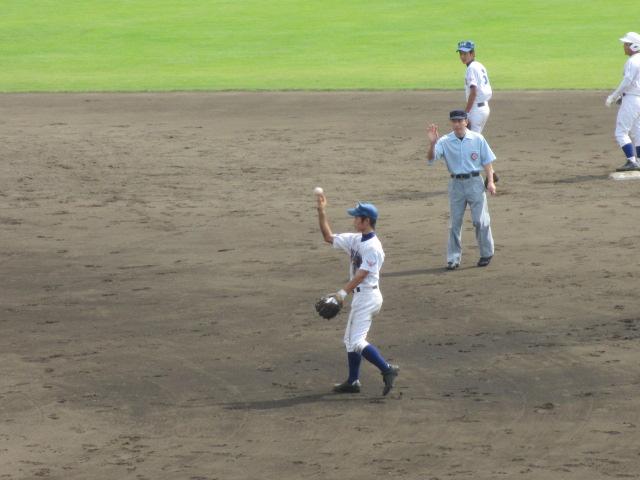北信越高校野球石川県大会 三回戦 航空vs市工 134