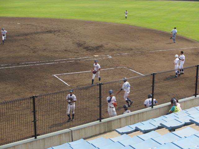 北信越高校野球石川県大会 三回戦 航空vs市工 144