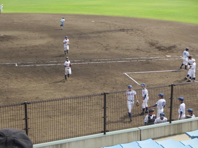 北信越高校野球石川県大会 三回戦 航空vs市工 145