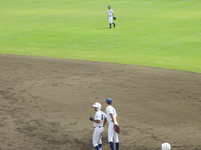北信越高校野球石川県大会 三回戦 航空vs市工 143