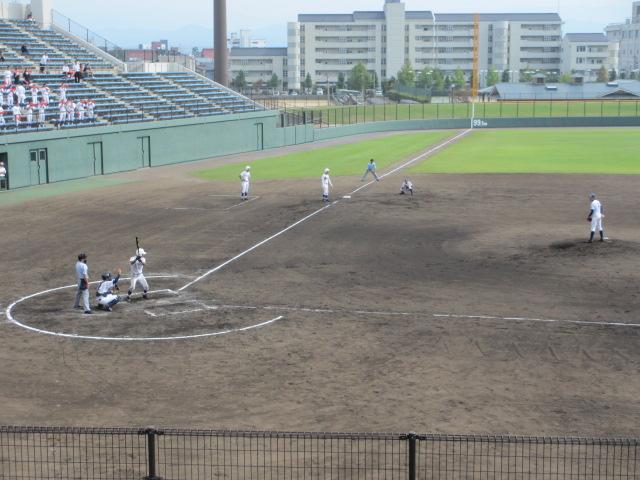 北信越高校野球石川県大会 三回戦 航空vs市工 141