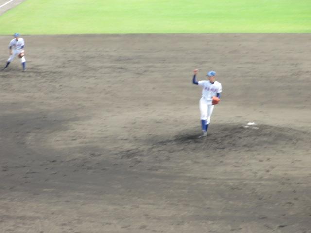 北信越高校野球石川県大会 三回戦 航空vs市工 142