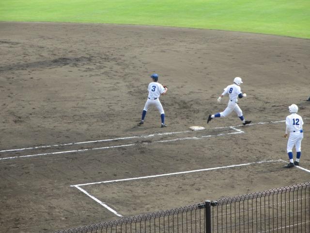 北信越高校野球石川県大会 三回戦 航空vs市工 140