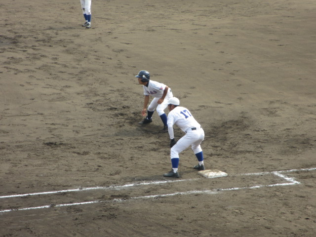 北信越高校野球石川県大会 三回戦 航空vs市工 150