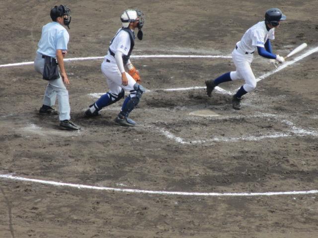 北信越高校野球石川県大会 三回戦 航空vs市工 157