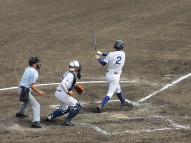北信越高校野球石川県大会 三回戦 航空vs市工 156