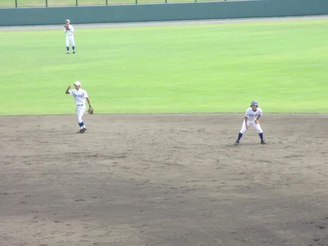 北信越高校野球石川県大会 三回戦 航空vs市工 155