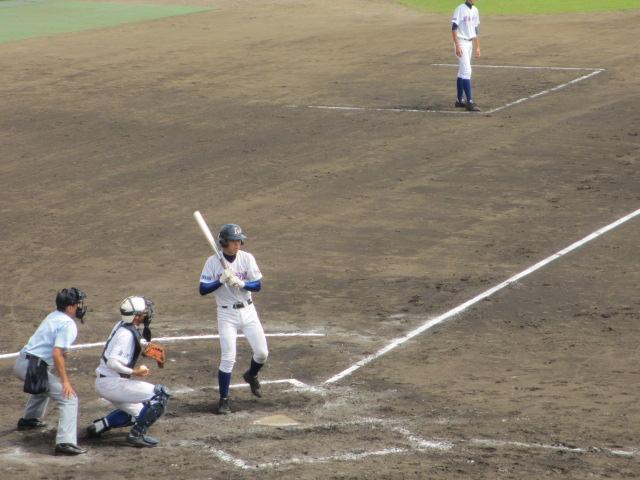 北信越高校野球石川県大会 三回戦 航空vs市工 153