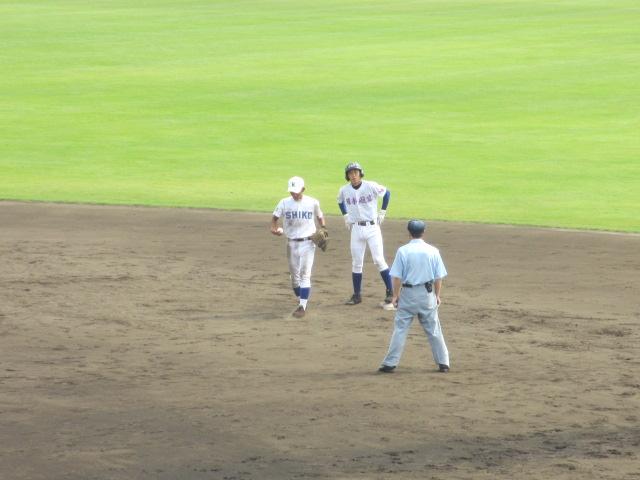 北信越高校野球石川県大会 三回戦 航空vs市工 160